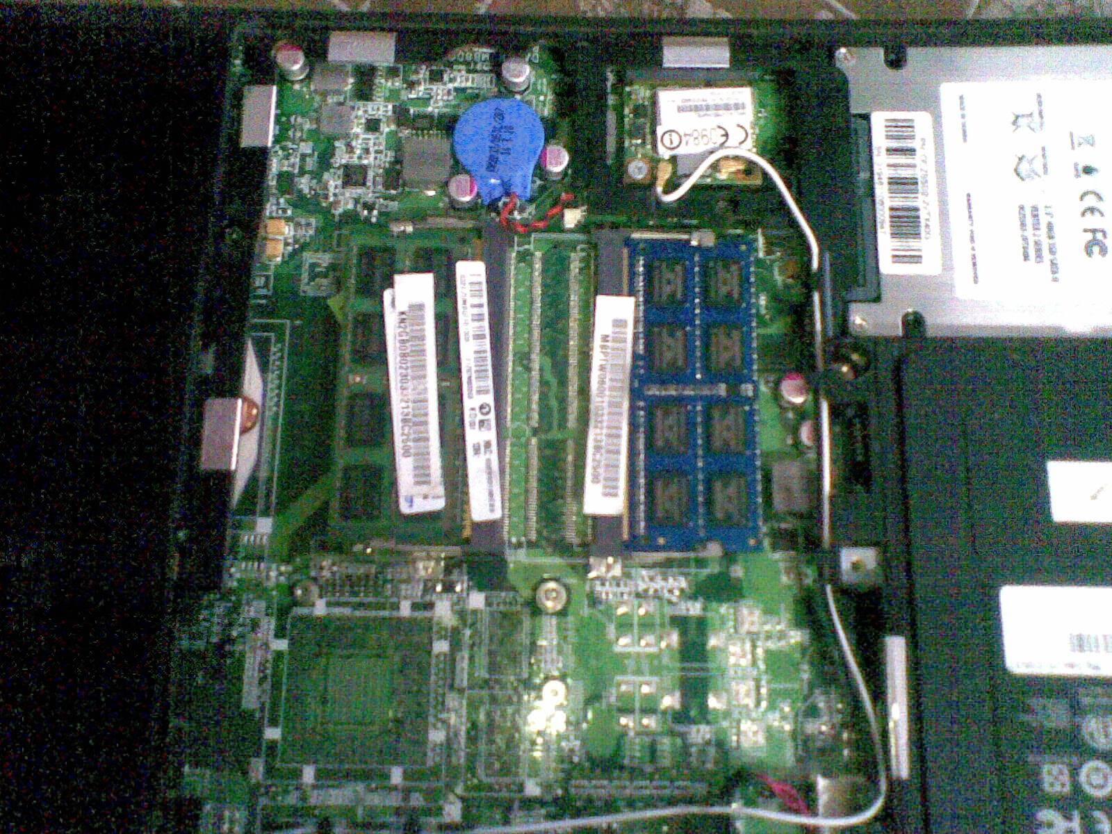 RAM Placed in Empty Socket