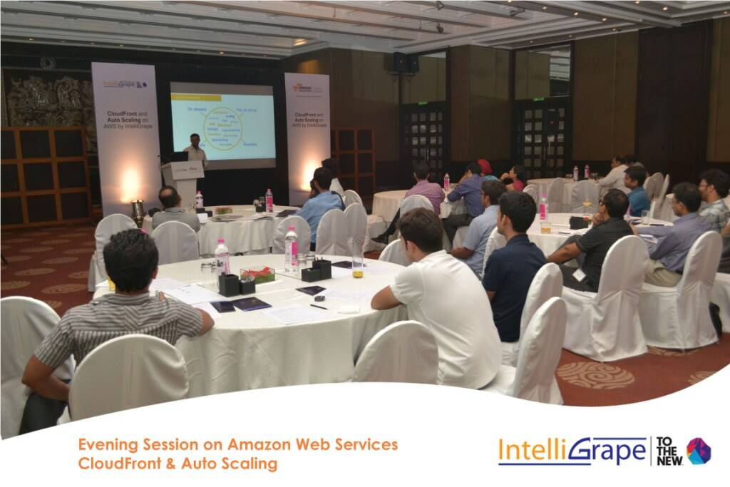 Evening Session on AWS CloudFront& Auto Scaling by Amazon and IntelliGrape Software-6