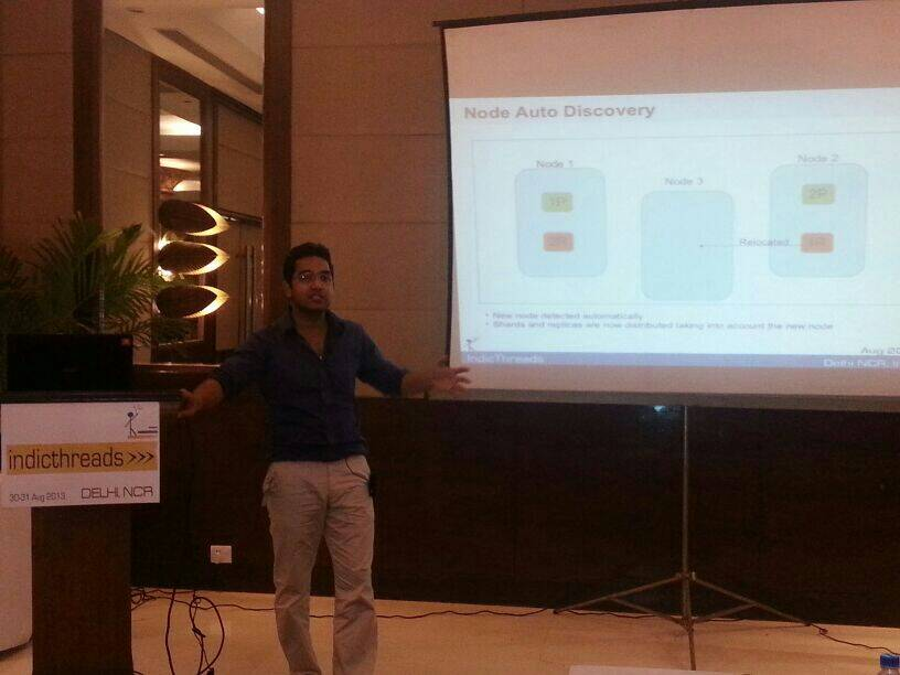 BigData Search Simplified with Elastic Search by Manoj Mohan @ IndicThread'13-1