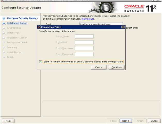 Installing Oracle 11g on Cloud (EC2 instance RHEL/Centos 6 x