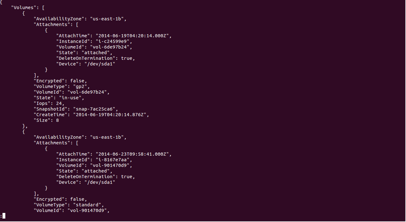 Filter aws cli Output with the –query Option | TO THE NEW Blog