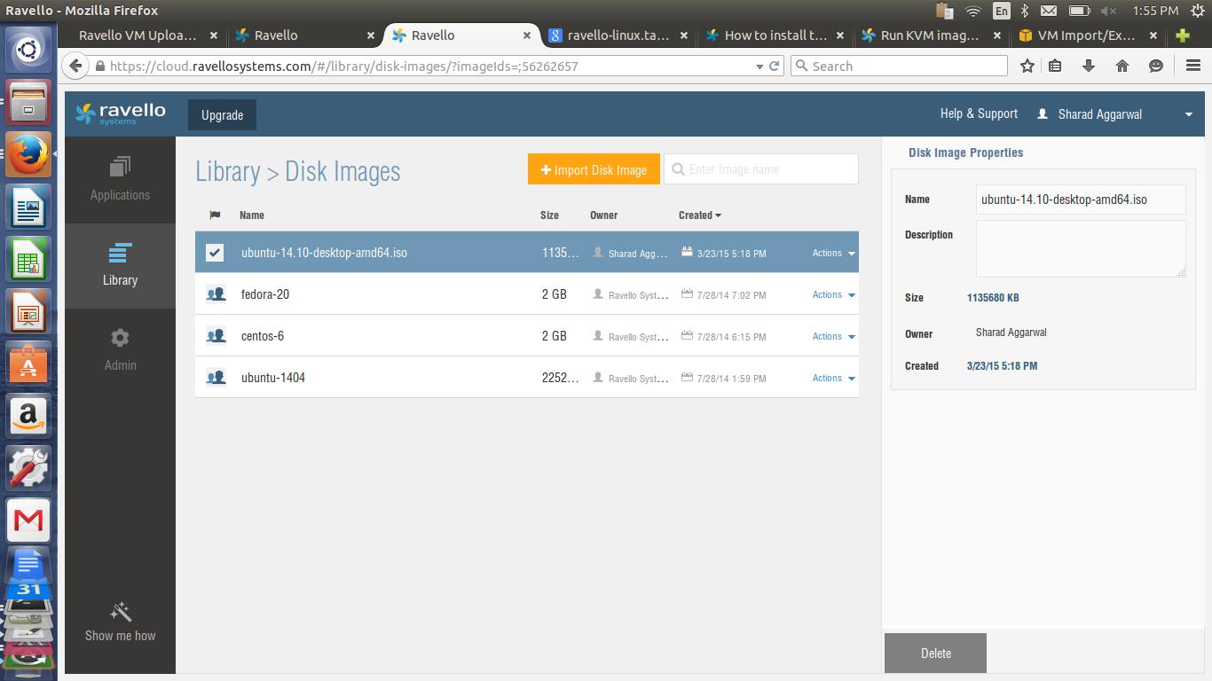 Import Disk Image