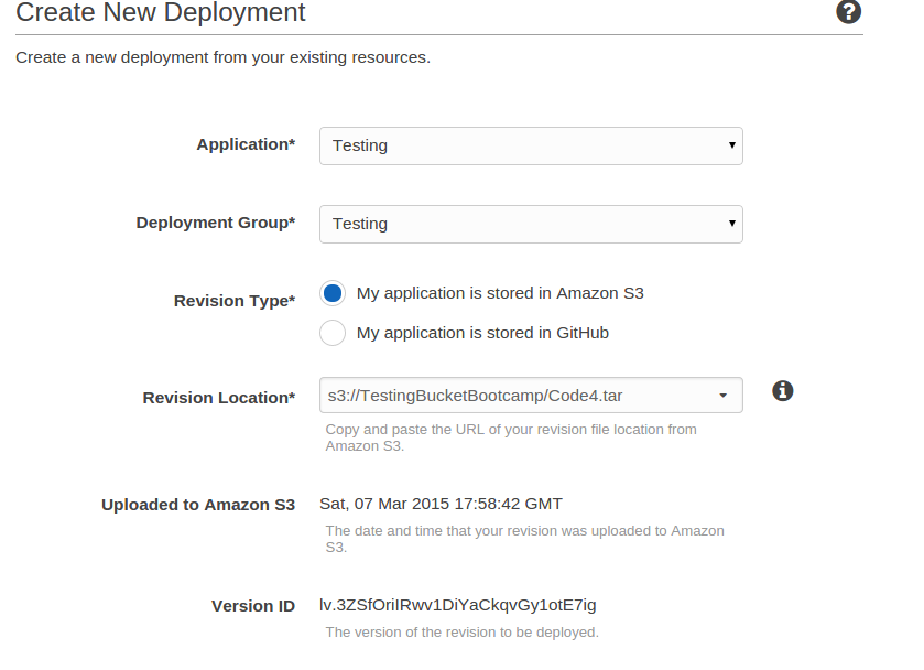 AWS CodeDeploy Using S3 | TO THE NEW Blog