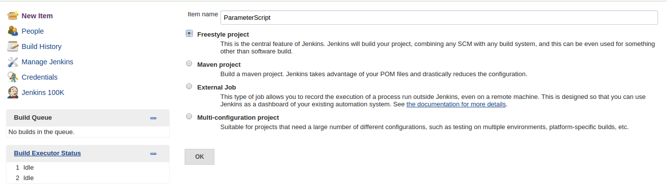 BUILDING PARAMETERIZED SCRIPT IN JENKINS | TO THE NEW Blog