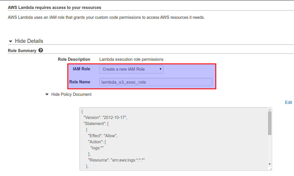 AWS Lambda Invocation using Amazon S3 | TO THE NEW Blog