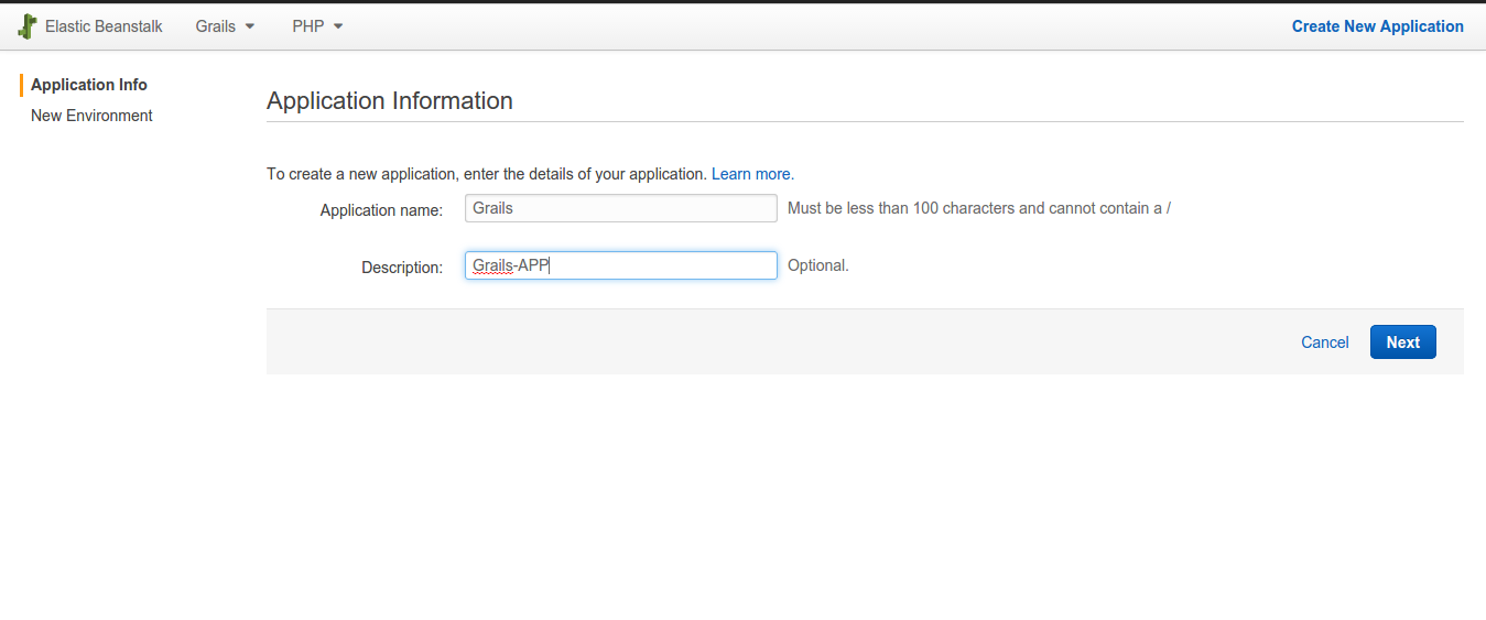 AWS Elastic Beanstalk ( Grails Application ) | TO THE NEW Blog