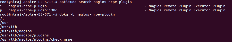 Using Nagios Core and NRPE to monitor remote linux hosts