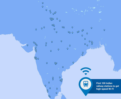 Modi Speech-Wi-Fi-Stations