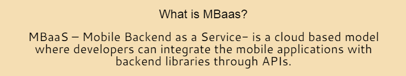 What is mBaaS? | TO THE NEW Digital