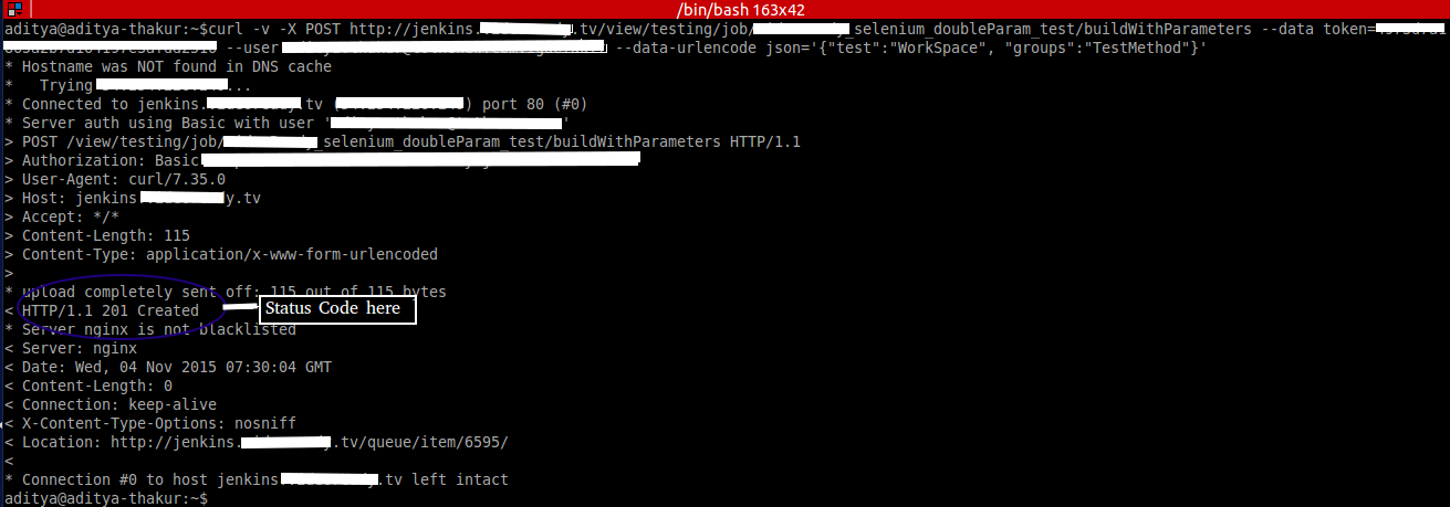 Jenkins API Integration : Trigger Job Remotely via Jenkins API | TO