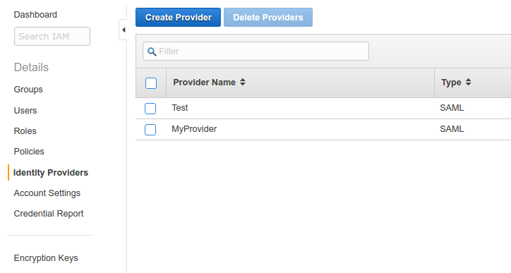 Cross-domain SSO with Google into AWS Console using SAML