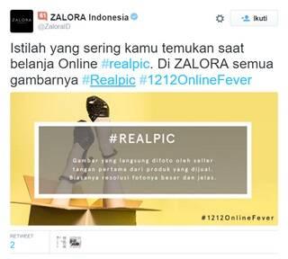 Zalora's #realpic social media campaign