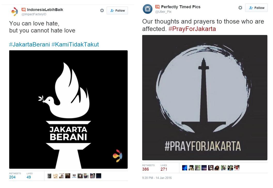 Various Indonesia bombing design