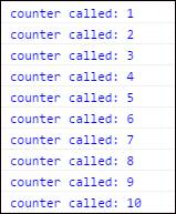 console-count