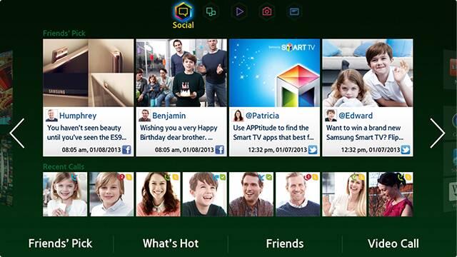 Feature of Samsung Smart Tv