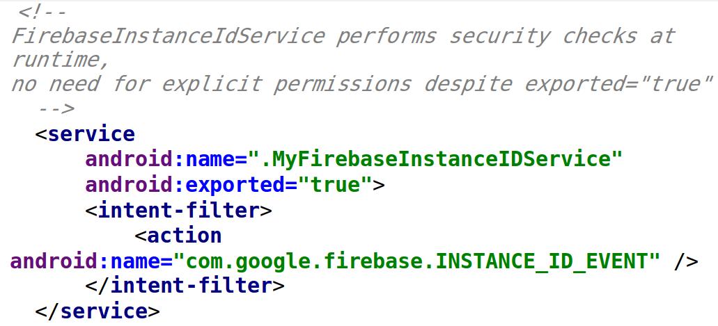 firebase cloud messaging server java