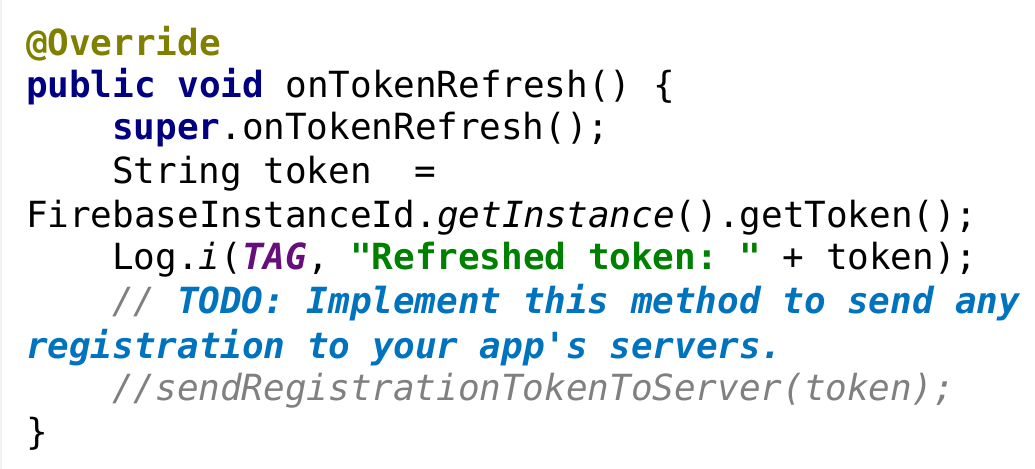 push notification in android using firebase