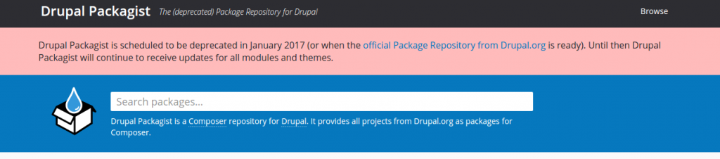 Drupal Packagist
