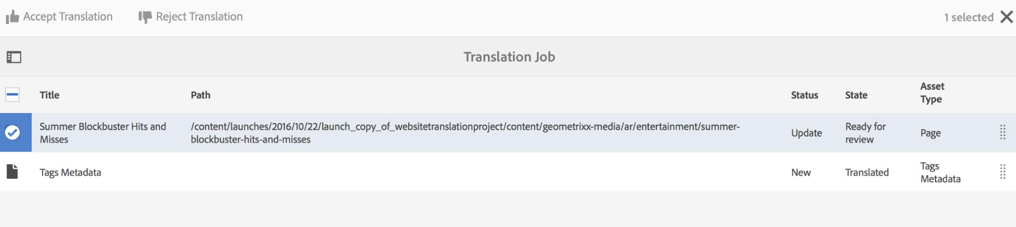 Translation Workflow