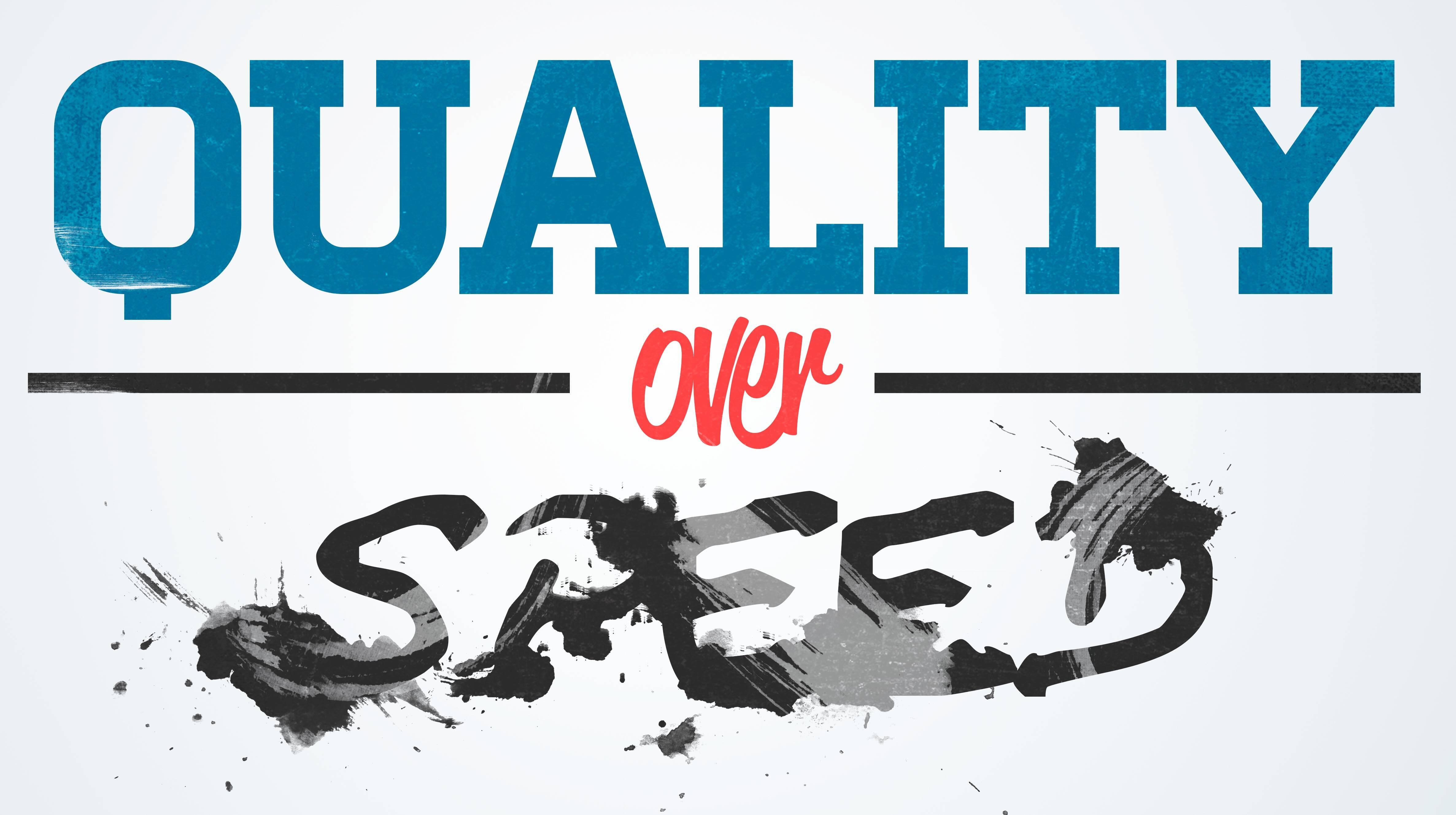 Devops for Choosing Speed Over Quality