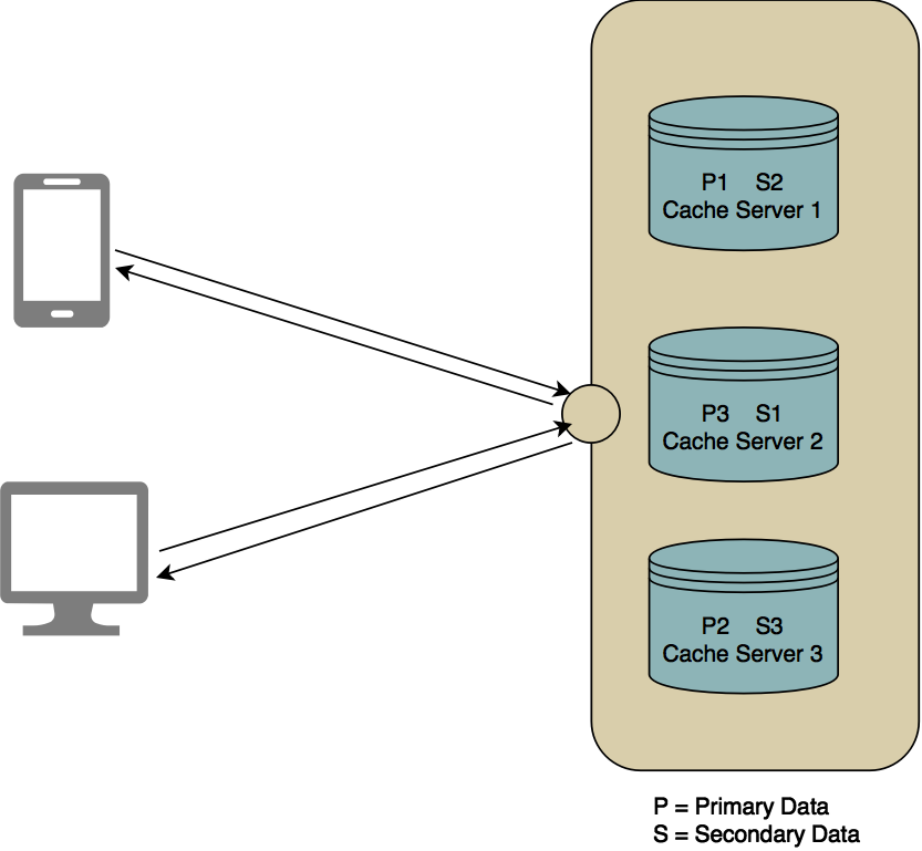 Cache cluster