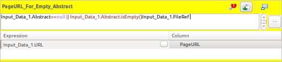 Talend Selective Outputs