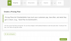 Setting up pricing_plan in CheddarGetter