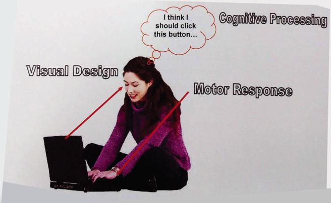 website interaction process