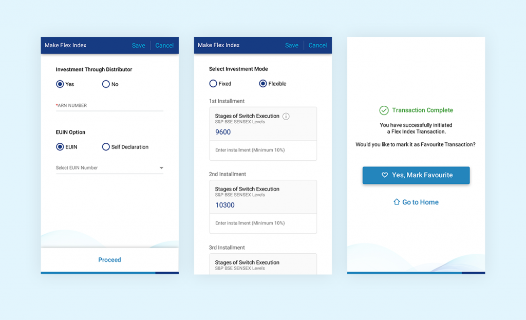 Material Design Forms