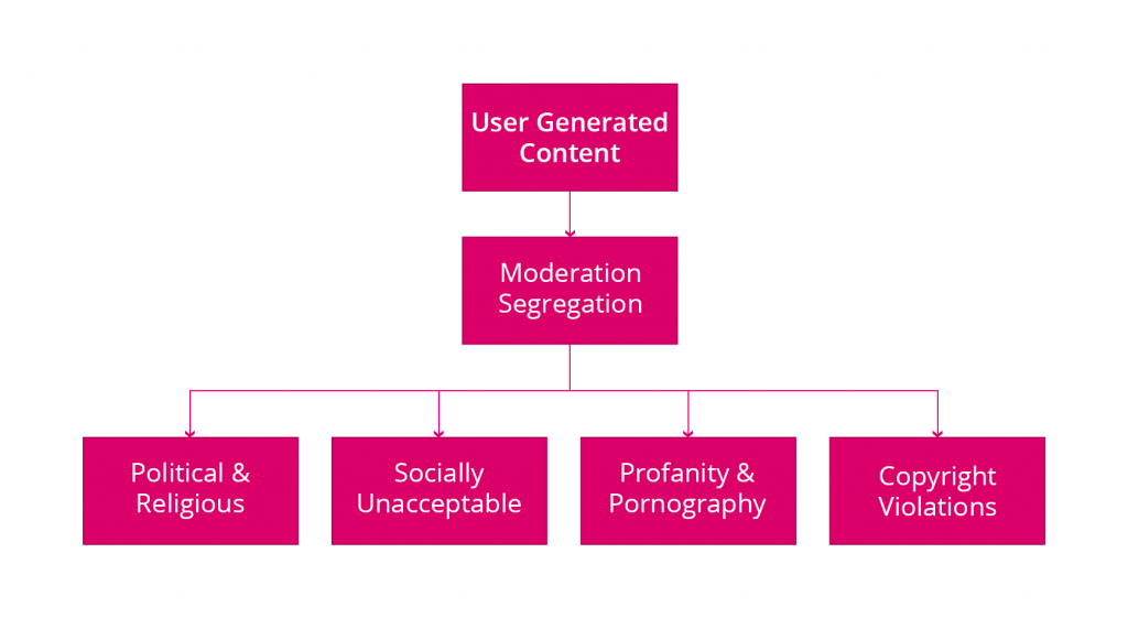 UGC Moderation Categories