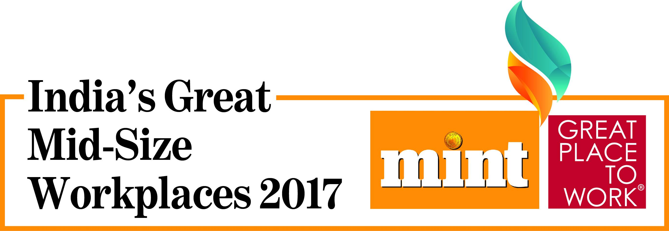 TO THE NEW Recognized by Great Place To Work, 2017