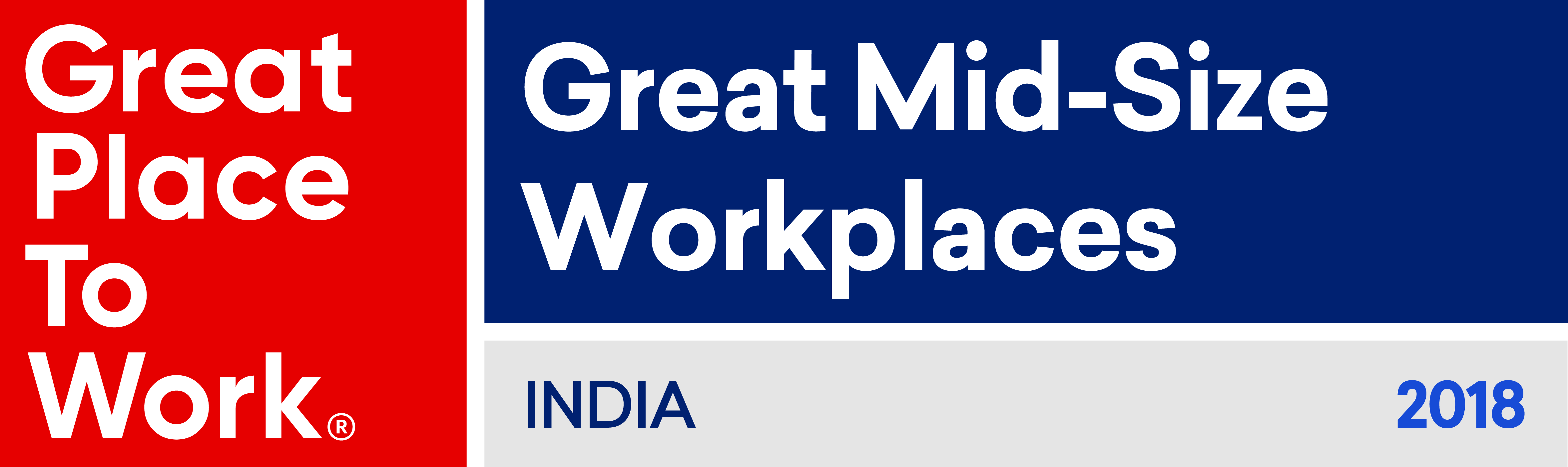 TO THE NEW in the Top 50 List of India 's Great Mid-Size Companies, 2018 by Great Place to Work®