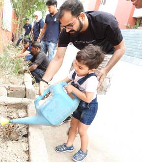 Tree Plantation Drive in Noida