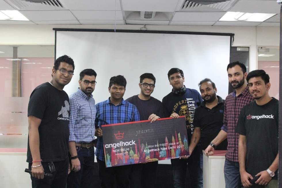 Winners, AngelHack Global Hackathon Series: New Delhi