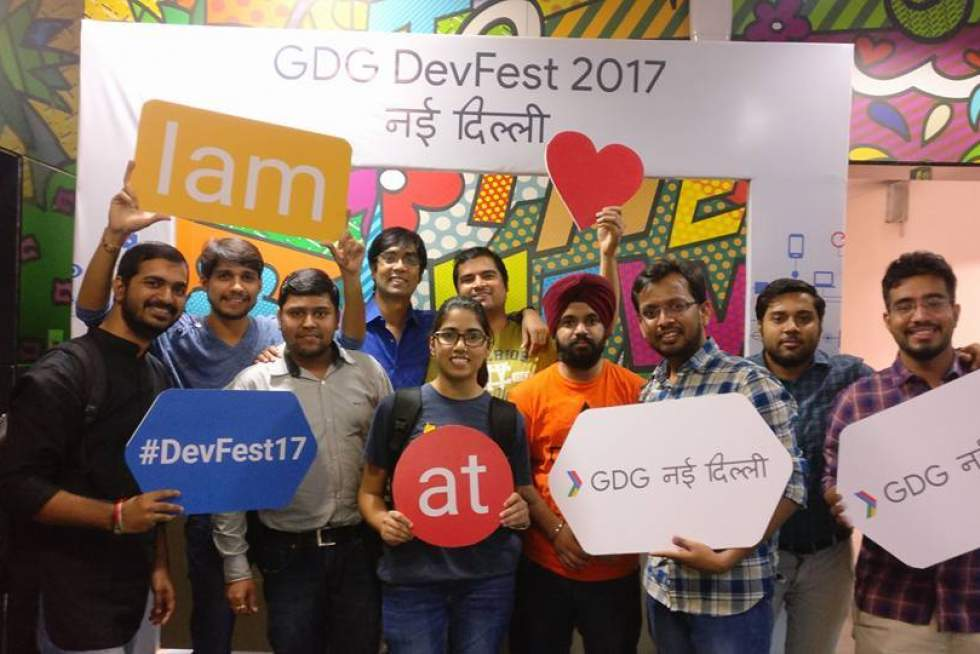 Google Developer Groups DevFest, 2017 at TO THE NEW