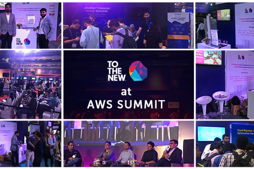 TO THE NEW Sponsors AWS Summit, 2018