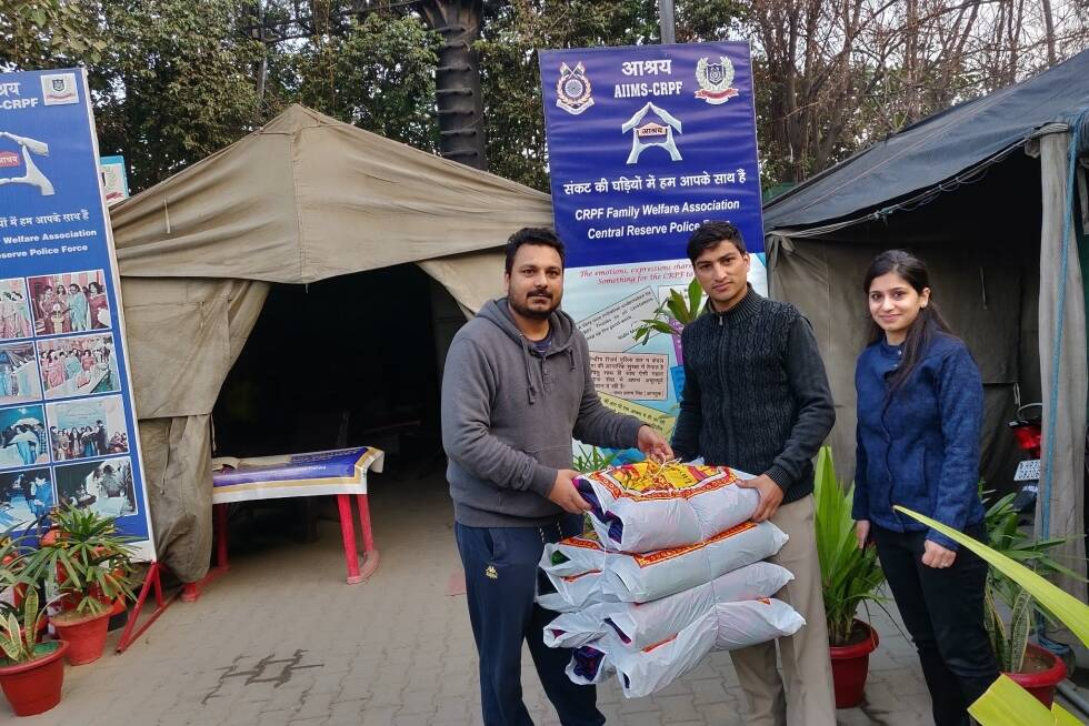 Blanket Distribution Drive by Pahal