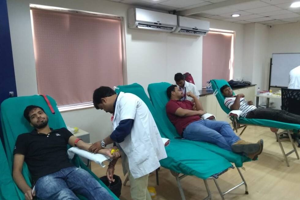 Blood Donation Drive at TO THE NEW