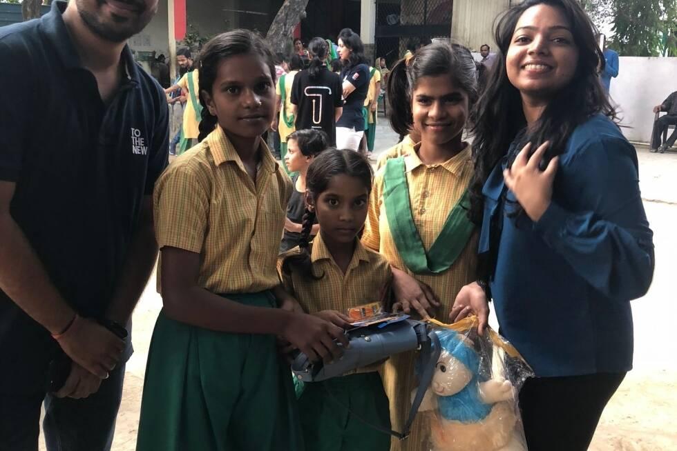 Pahal's Visit to Saikripa Orphanage