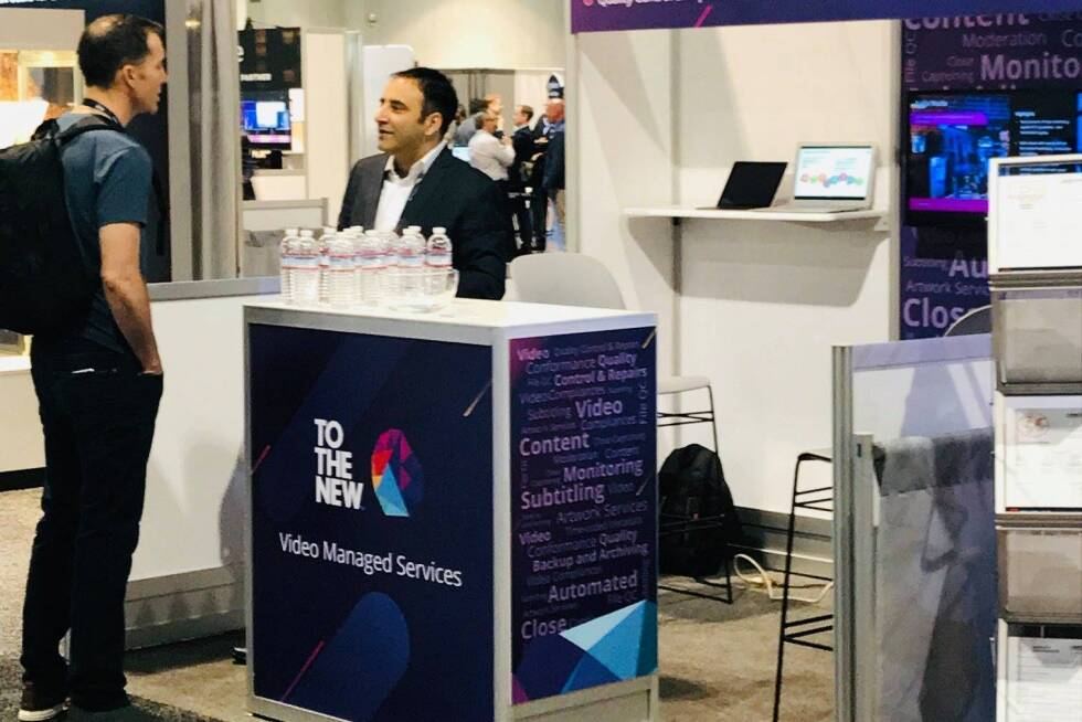 Team TO THE NEW at NAB Show, 2019