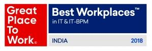 TO THE NEW Recognized Among Top 50 India's Best Workplaces in IT & IT-BPM, 2018
